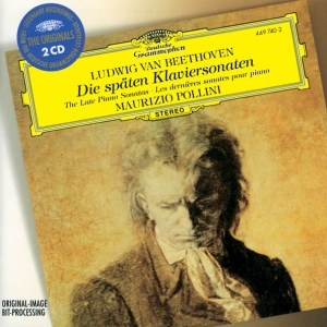 Beethoven: Piano Sonatas opp.101, 106, 109-111 — Pollini; CD cover
