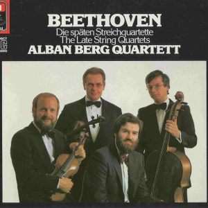 Beethoven, string quartets op.127 - 135, Alban Berg Quartett, CD cover
