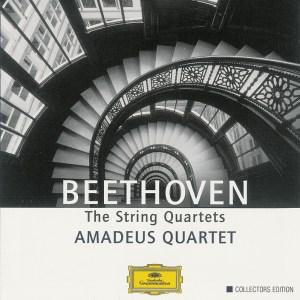Beethoven, string quartets, Amadeus Quartet, CD cover