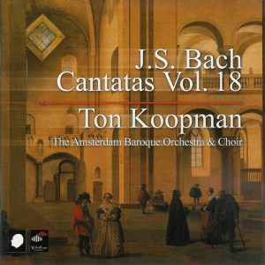 Bach: Cantatas, vol.18, Koopman, CD cover