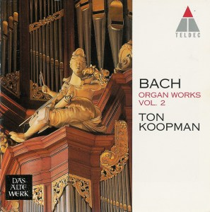 Bach: Organ Works, vol.2 — Koopman, CD cover