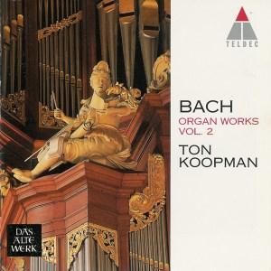 Bach: Organ Works, vol.2 — Koopman, CD cover