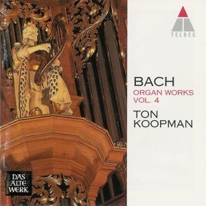 Bach: Organ Works, vol.4 — Koopman, CD cover