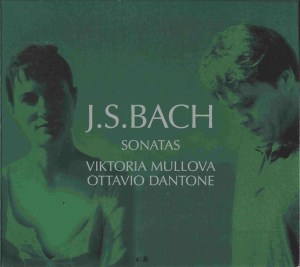 Bach: Violin Sonatas BWV 1014-1019, Mullova/Dantone, CD cover