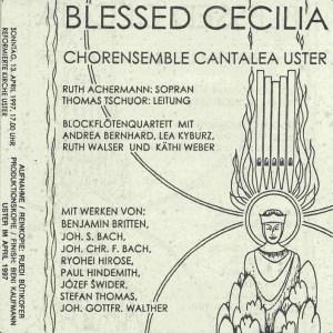 Britten: Blessed Cecilia, Cantalea, Tschuor, CD cover