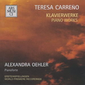 Carreño: Piano works — Oehler; CD cover