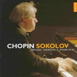 Chopin: Préludes, Sonata 2, Etudes op.25, Sokolov, CD cover