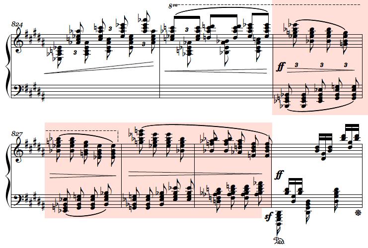 Alkan: Etude op.39/8, score sample
