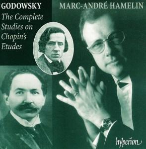 Godowsky: Chopin Studies, Hamelin, CD cover