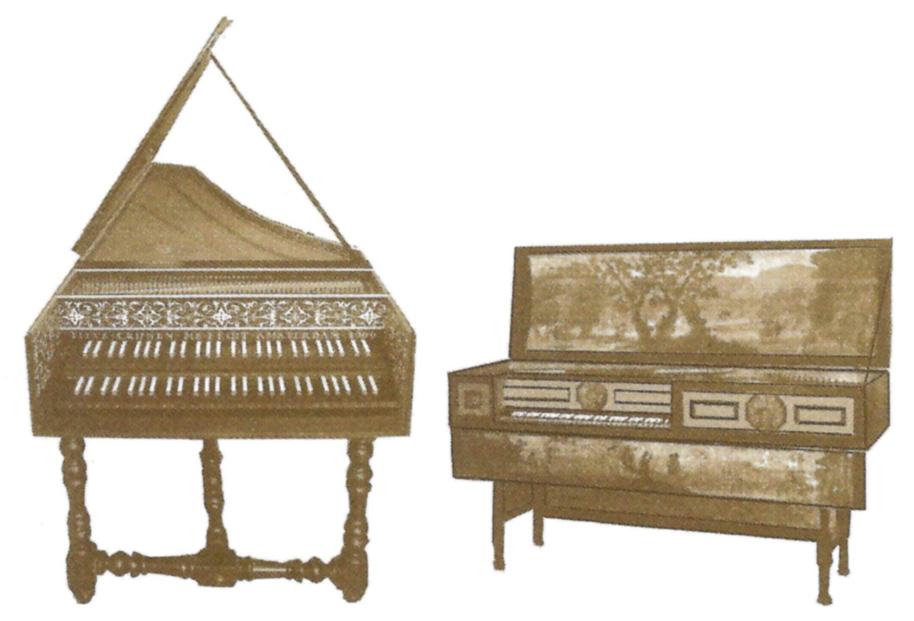 Bull: Dr. Bull's Jewel —Cok; harpsichord & Virginal used