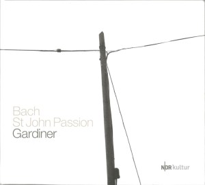Bach, St.John Passion, Gardiner, Padmore, CD cover