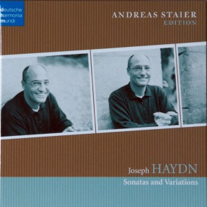 Haydn: Sonatas and Variations - Staier; CD cover