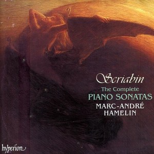 Scriabin: The complete piano sonatas, Hamelin, CD cover