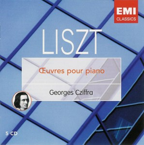 Liszt: Oeuvres pour piano, Cziffra, CD cover