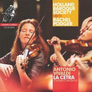 Vivaldi: La Cetra, 12 violin concerti op.9 - Podger, CD cover