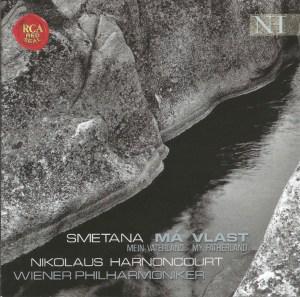 Smetana: Má Vlast, Harnoncourt, CD cover