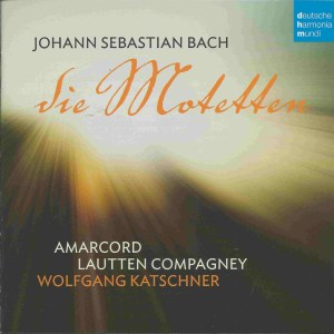Bach: The Motets, Katschner, Amarcord, CD cover