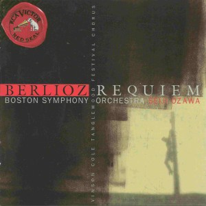 Berlioz: Requiem op.5, Ozawa, CD cover