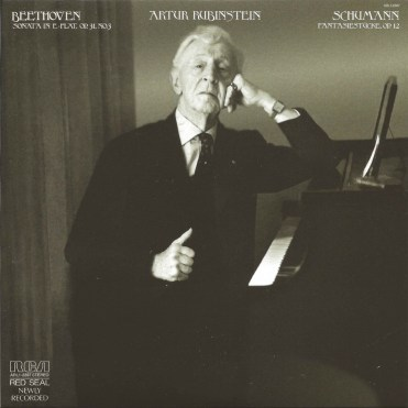 Rubinstein, The Complete Album Collection (142 CDs), cover, CD # 125