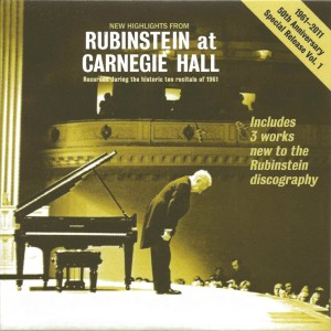 Rubinstein, The Complete Album Collection (142 CDs), cover, CD # 140