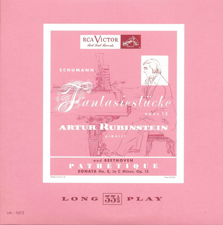 Rubinstein, The Complete Album Collection (142 CDs), cover, CD # 21