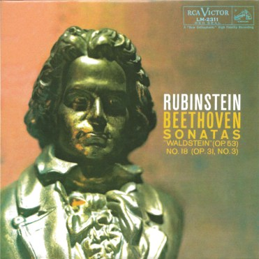 Rubinstein, The Complete Album Collection (142 CDs), cover, CD # 65