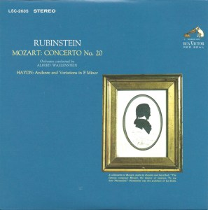 Rubinstein, The Complete Album Collection (142 CDs), cover, CD # 85