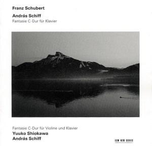 Schubert: Wanderer-Fantasie D.760, Fantasie for Vl.&piano D.934, Shiokawa, Schiff, CD cover