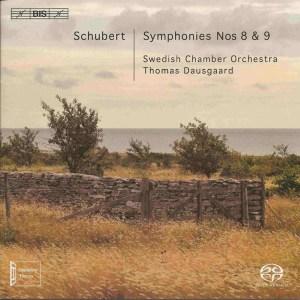 Schubert: Symphonies 8 & 9, Dausgaard, CD, cover