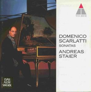 Domenico Scarlatti, Sonatas, Staier, CD, cover