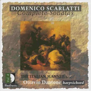 Domenico Scarlatti, Complete sonatas vol.4, Dantone, CD, cover