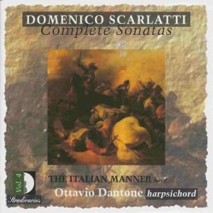 Domenico Scarlatti, Complete sonatas vol.4, Dantone, CD, cover