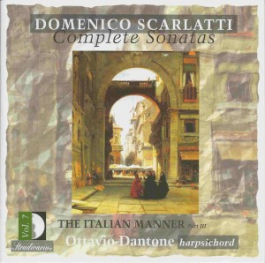 Domenico Scarlatti, Complete sonatas vol.7, Dantone, CD, cover