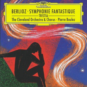 Berlioz: Symphonie fantastique, op.14 — Boulez; CD cover