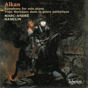 Alkan: Symphony for solo piano, op.39/4-7, Hamelin, CD cover