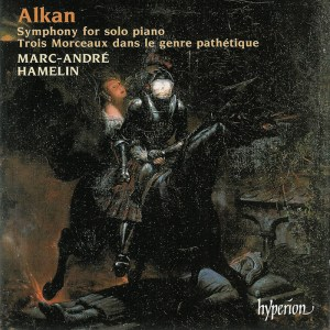 Alkan: Symphony for solo piano, op.39/4-7, Hamelin, CD cover