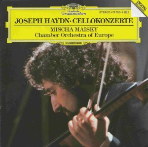 Haydn: Cello concertos, Mischa Maisky, CD cover