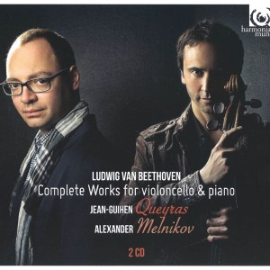 Beethoven: Cello Sonatas — Queyras, Melnikov; CD cover
