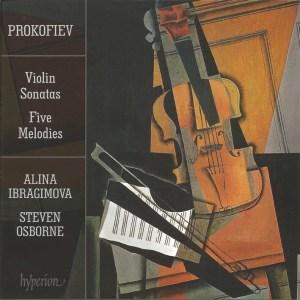 Prokofiev: Violin Sonatas opp.80 & 94bis, 5 Melodies — Ibragimova, Osborne; CD cover