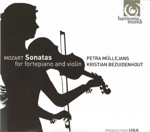 Mozart: Sonatas for fortepiano & violin, Müllejans/Bezuidenhout, CD cover