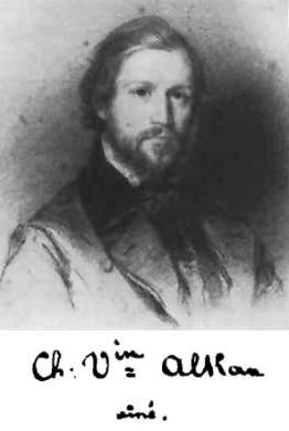 Charles-Valentin Alkan, portrait, ca. 1835