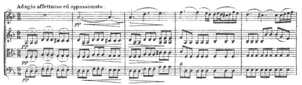 Beethoven: String Quartet op 18/1 | Rolf's Music Blog
