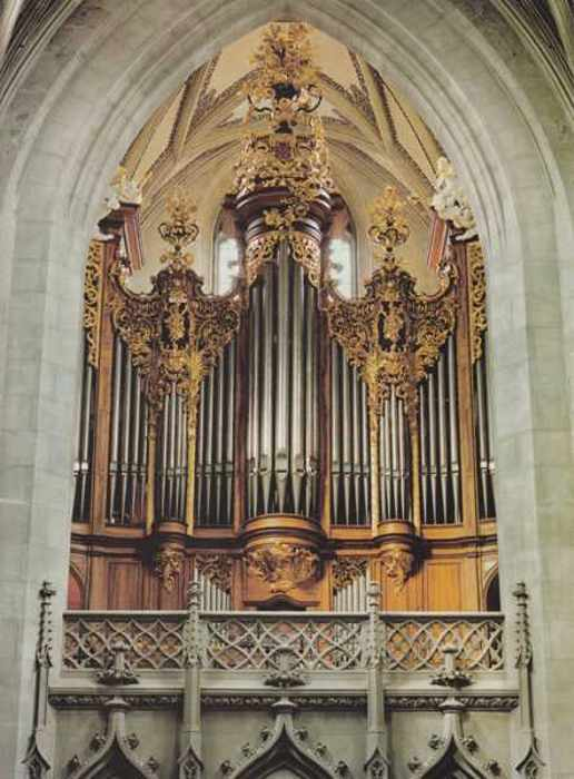 Kuhn-organ (1930) in the Münster in Berne