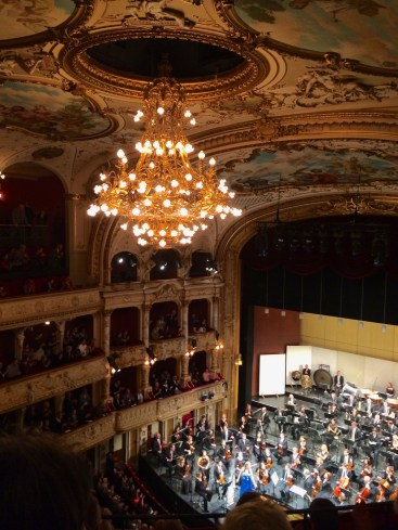 Zurich Opera 2013-12-22, applause for Rachmaninoff piano concert No.2