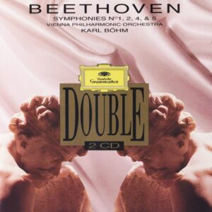 Beethoven: Symphonies 1,2,4,5 —Böhm / VPO; CD cover