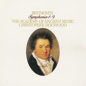 Beethoven: Symphonies 1 - 9 — Hogwood, AAM; CD cover