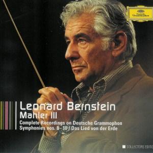 Mahler: Symphonies 8-10, Das Lied von der Erde —Bernstein/King/Fischer-Dieskau; CD cover