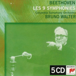 Beethoven: Symphonies 1-9 — Walter / CSO; CD cover