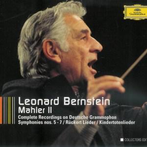 Mahler: Symphonies 5 - 7 —Bernstein; CD cover