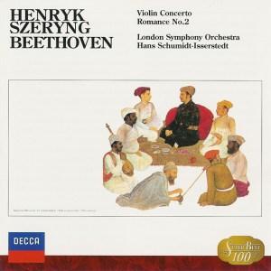Beethoven: Violin Concerto — Szeryng, Schmidt-Isserstedt; CD cover